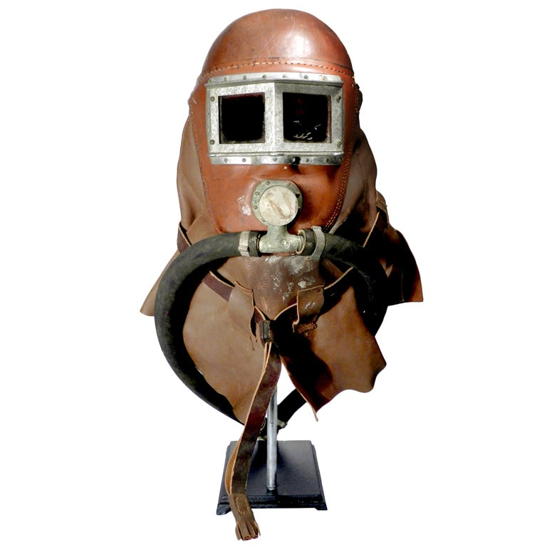 1800s Smoke Rescue Mask  :: Radio Guy