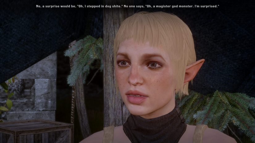 Sera commenting, in her own way, that saying that Magister-monster was a surprise is an understatement.