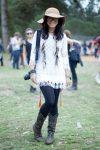 秋フェスの服装!レディースはハーフパンツ×タイツ×ブーツコーデが人気!