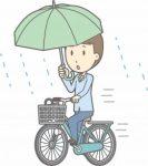 傘差し運転の罰金や罰則!検挙されると面倒な事が待っている