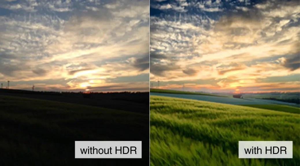 HDR撮影比較