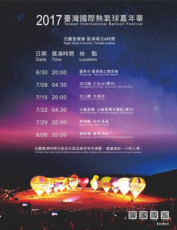 2017臺灣國際熱氣球嘉年華 Taiwan International Balloon Festival
