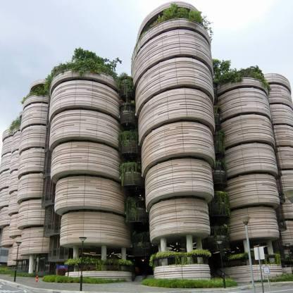 新加坡南洋理工大學教學中心外觀