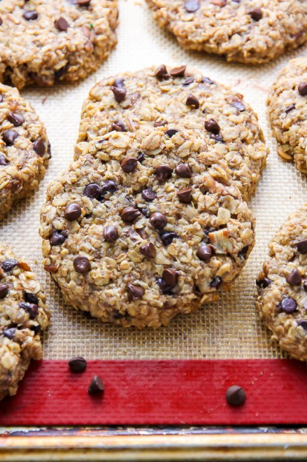 oat banana cookies