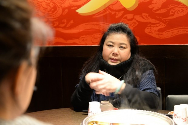 太和殿董事長沈琬與採訪記者侃侃而談當初開店的初衷