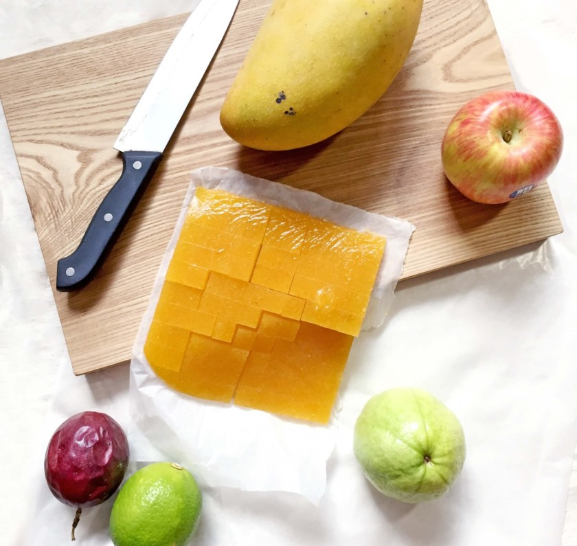 摺點的法式軟糖都是用新鮮水果熬製而成,不添加任何人工香精