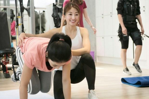 看到學生因為接觸健身後的改變,是Annie 工作上最大的成就感
