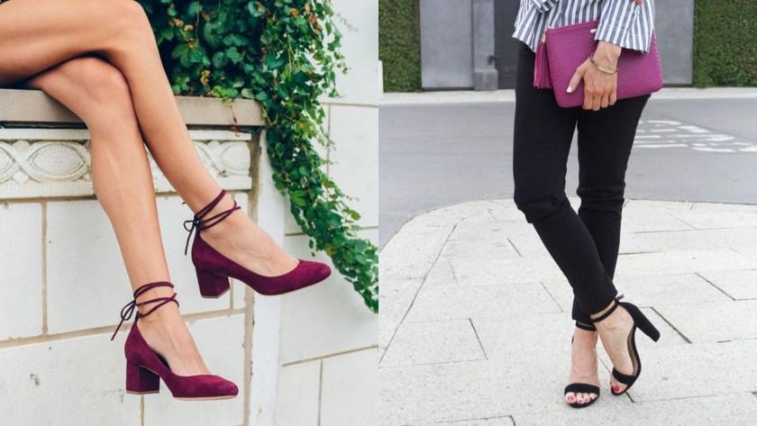 要減輕痛楚的話,不妨在款式方面入手。在選擇高跟鞋時,拋開容易對前掌過分造成壓力的細跟高跟鞋,換上較舒適的厚底鞋或厚跟鞋。