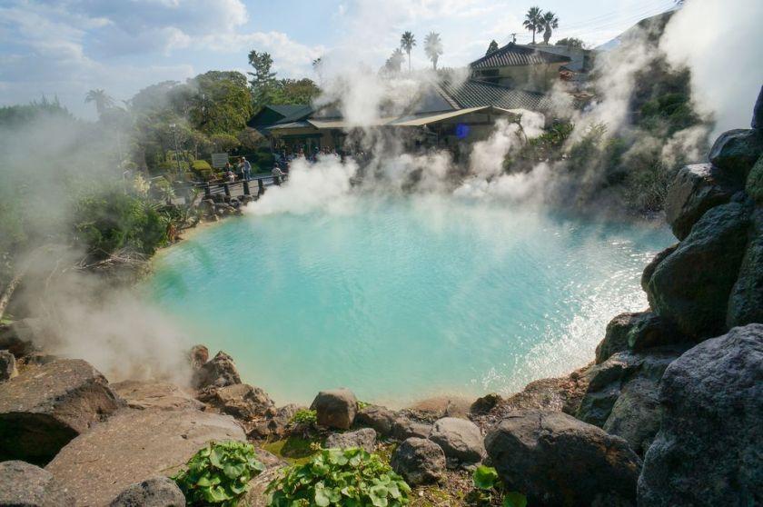 別府八湯湧泉數量高居日本之冠,佔了全日本 10% 以上,排名世界第二。