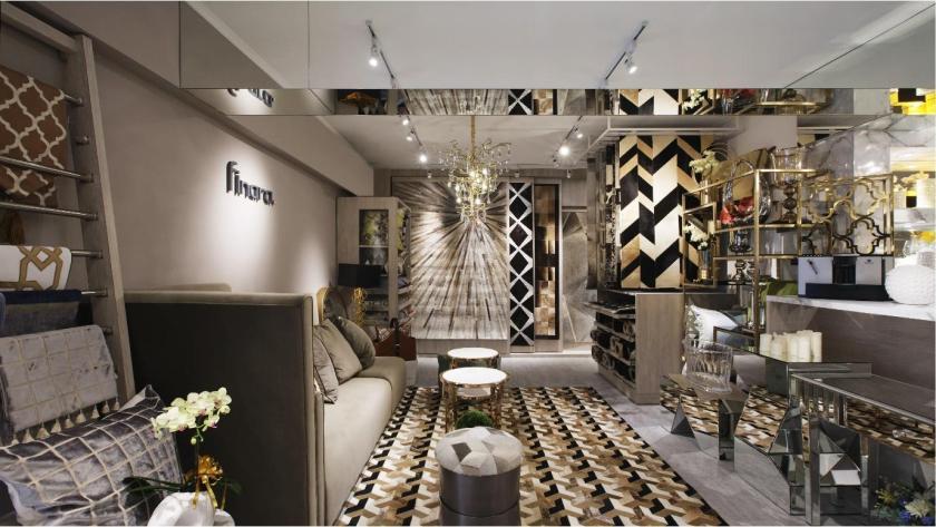 走現代奢華風的finara費納拉,每項商品都令人傾心。