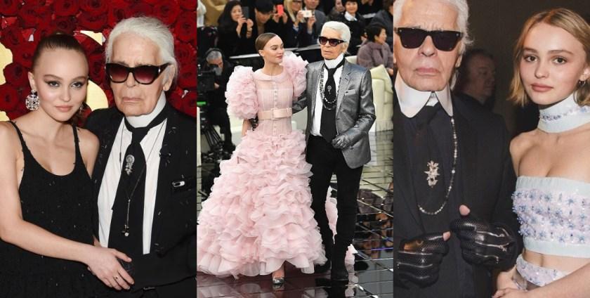 「我認為很難遇見到像 Karl 這樣的人,因為他在很多方面顯然都是我的偶像。」