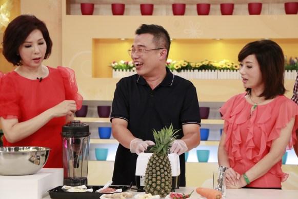 吳明珠也會在節目上分享中醫飲食的養生之道。