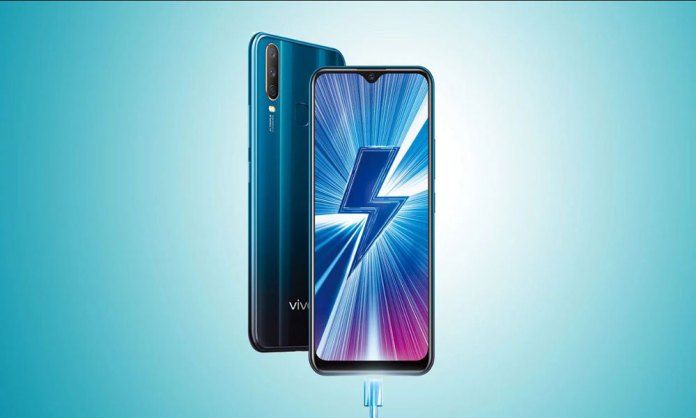 The Vivo Y12 is officially announced with a 5000mAh battery and tripple camers