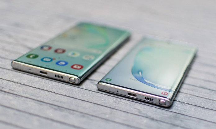 Samsung Galaxy Note 10 phones are stunningly stylish and modern in design