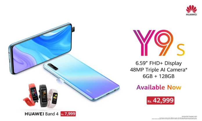 HUAWEI Y9s it's latest entrant 'Goes On Sale'