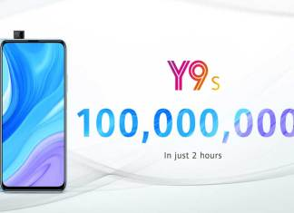 HUAWEI Y9s Sets a New Sales Record