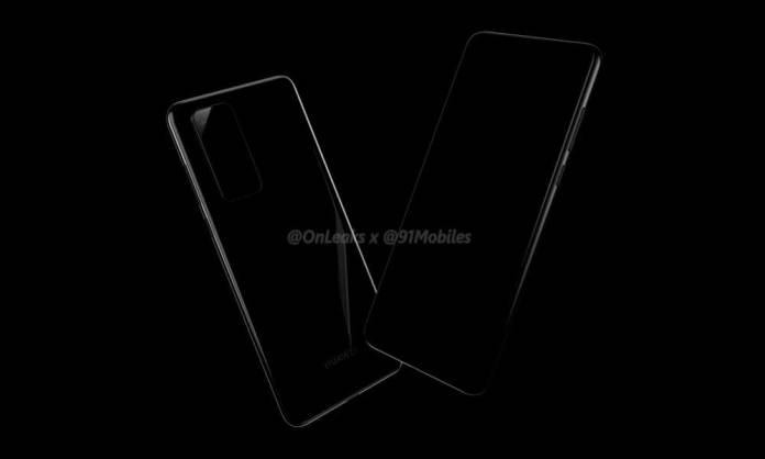 Huawei P40 and P40 Pro will have a rectangular rear camera