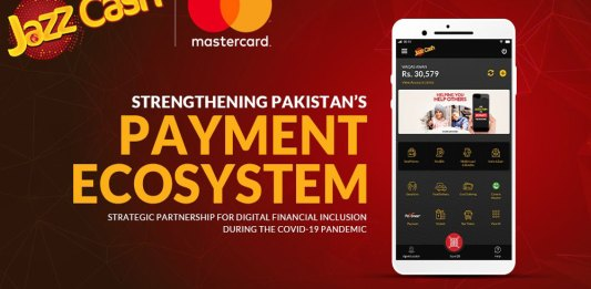 JazzCash partnered with Mastercard to strengthens Pakistan's payments ecosystem
