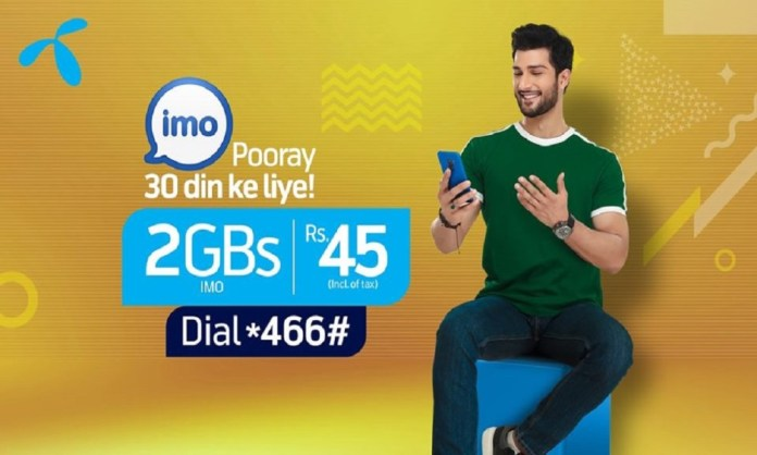 Telenor Monthly IMO Bundle Now Enjoy Video Calls with Your Loved Ones