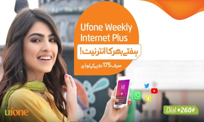 Ufone Weekly Internet Plus Now Get Double Internet