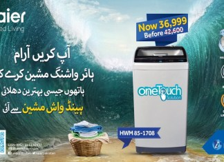 Haier Handwash Machine, For A Hassle-Free Laundry Day