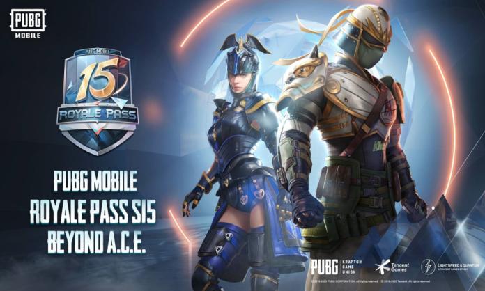 "PUBG Mobile Royale Pass Season 15 ""Beyond A.C.E."" Delivers Sleek and Customizable Rewards"