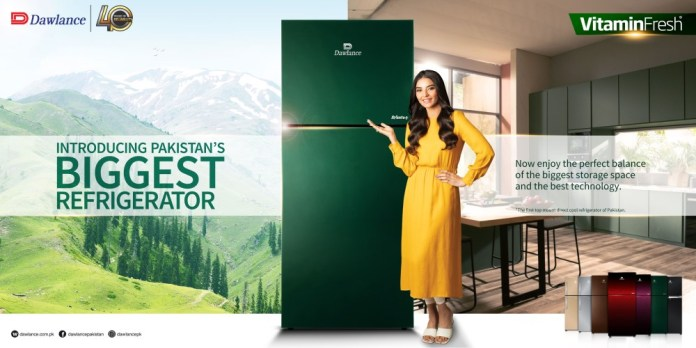 "Dawlance launches the 'Biggest Top-Mount Direct Cool Refrigerator"" of Pakistan"