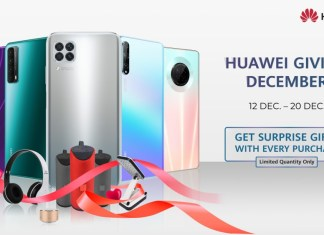 Huawei Giving December Brings Gifts with Every Huawei Purchase