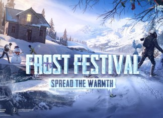"PUBG MOBILE ""FROST FESTIVAL"" SPREADS HOLIDAY WARMTH ON ERANGEL"