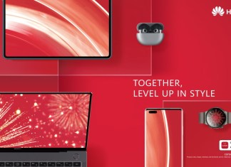 This Chinese New Year stay focused and determined on your fitness goals with Huawei