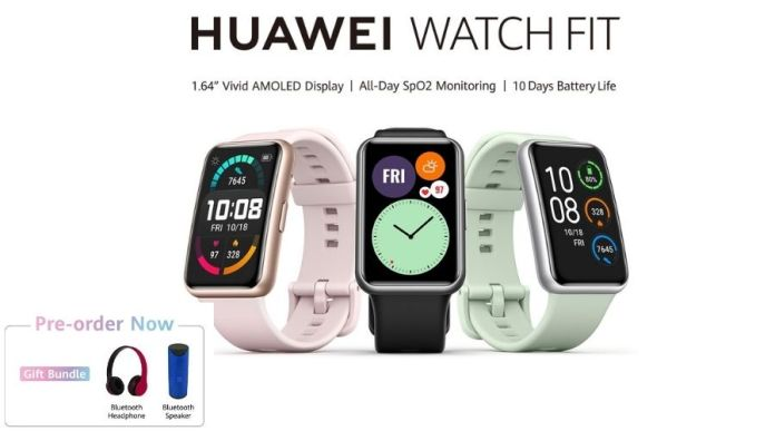 The 'Huawei Watch Fit' Pre-booking is now open Nationwide