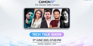 Tecno all set to Launch the new Camon 17 series in Pakistan