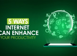 Here are 5 different ways Internet can enhance your Productivity
