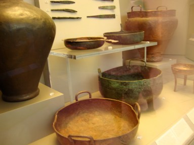16th BC metal cookware
