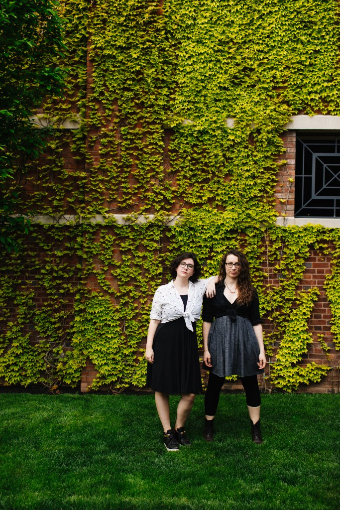 Fiona and Maria in Princeton 2017