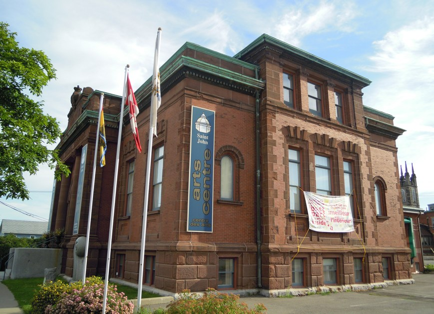 Saint John Arts Centre, Saint John, NB, CANADA