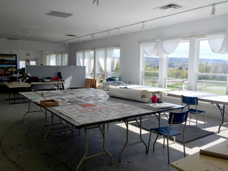 Studio Space at the ICCA in Inverness 2016