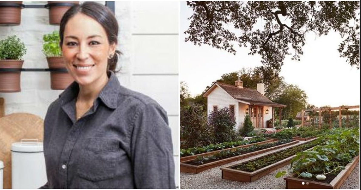Joanna Gaines' Stylish Garden Will Make You Green With Envy