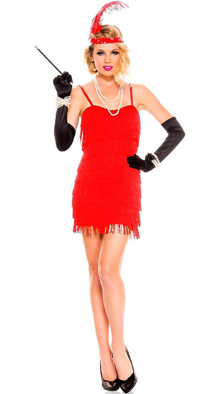 LADIES 1920'S CHARLESTON FLAPPER DRESS 20S FANCY DRESS ...