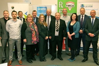 Speakers. Conference: Sport for Developmet in a Post Conflict Society. Ulster University, Derry-Londonderry, Northern Ireland. @YMCAIreland (c) Allan LEONARD @MrUlster