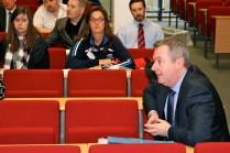 Lee WILLIAMSON. Workshop discussion. (c) Allan LEONARD @MrUlster