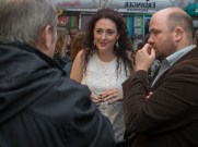 Caireen McCLUSKEY. Integrated Education Alumni Association (IEAA) launch event, Belfast branch, Sunflower Bar, Belfast, Northern Ireland. @IntEdAlumni