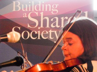 Launch of Community Relations and Cultural Awareness Week 2016, Northern Ireland Community Relations Council, Girdwood Community Hub, Belfast, Northern Ireland. @NI_CRC #CRWeek16 (c) Sophie AUMAILLEY