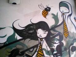 Street art. Belfast, Northern Ireland. (c) Sam ALLEN @allensam95