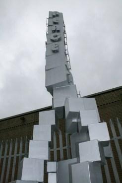 Peace Pole at Northumberland Street, Belfast (c) Allan LEONARD @MrUlster