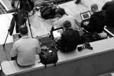 Media workers get their photos and stories released (c) Allan LEONARD @MrUlster