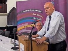 Peter OSBORNE (Chair, CRC) (c) Allan LEONARD @MrUlster