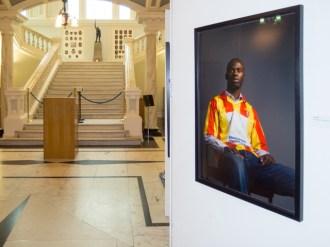 Belonging Project exhibition, Belfast City Hall, Northern Ireland (c) Allan LEONARD @MrUlster