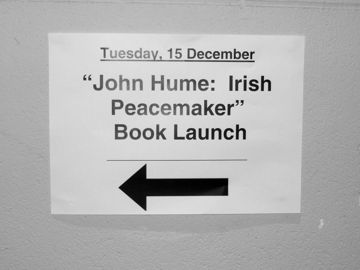 John Hume Irish Peacemaker Discuss Shared Future News