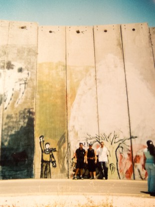 Wall kids. Visualising Conflict in Palestine. Imagine! Festival, Common Grounds Cafe, Belfast, Northern Ireland.